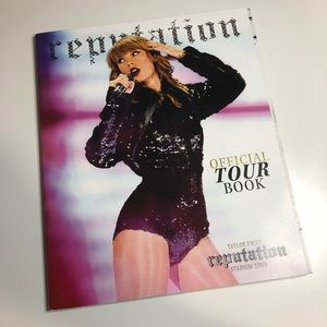 Taylor Swift official Reputation Tour Book